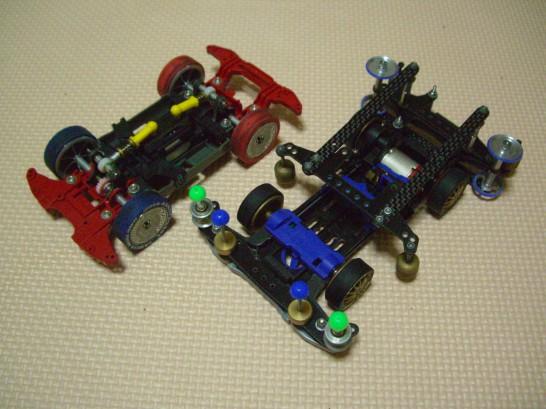 MS(ダイレクトドライブ)とS2(シャフトドライブ)
