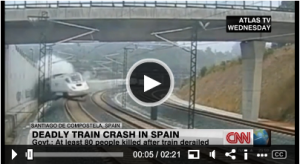 スペイン列車事故